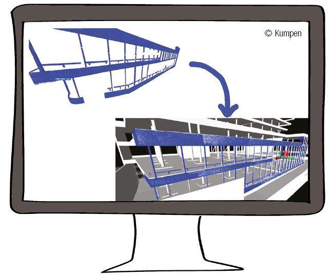toepassing van 3D-scanning tijdens de uitvoering