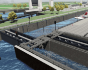 Verbreding Lekkanaal en aanleg 3e kolk Beatrixsluis